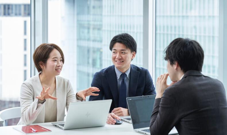 社内連携の総合力で、お客様の課題を解決します
